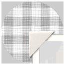 Dark Checkerboard Stationery Button